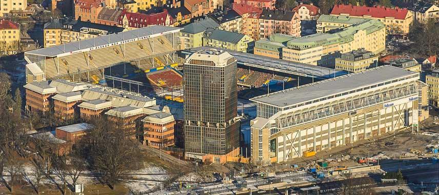 Sweden's former national stadium