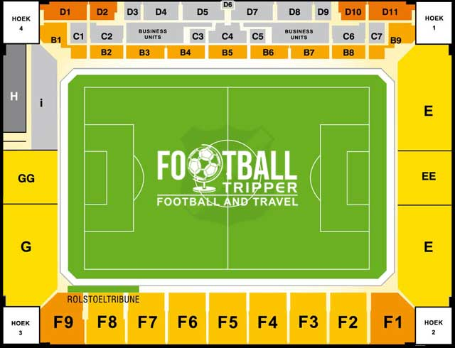 Rat Verlegh Stadion seating map