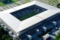 Aerial view of Red Bull Arena Salzburg
