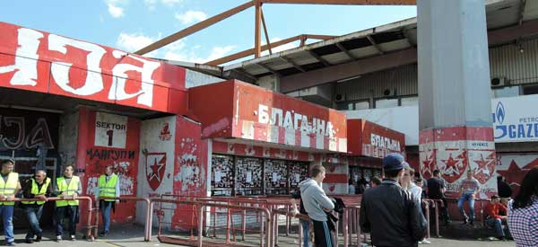 Red Star ticket office
