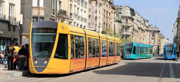 Reims Tramway system