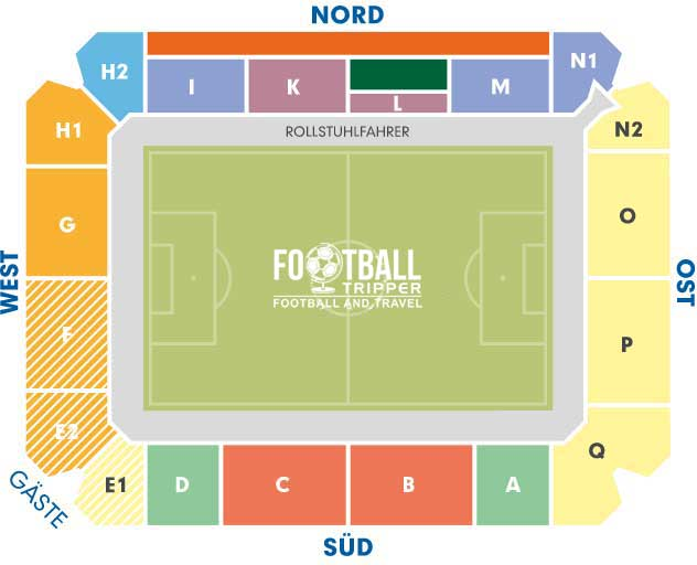 Rewirpower Stadion Bochum Seating Plan