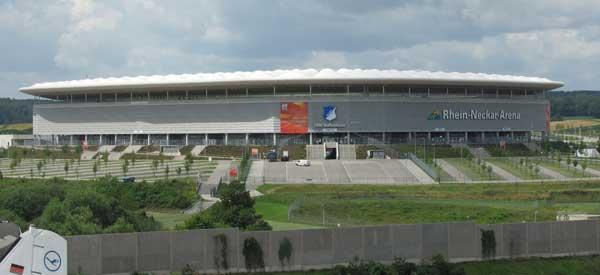 Rhein-Neckar-Arena exterior