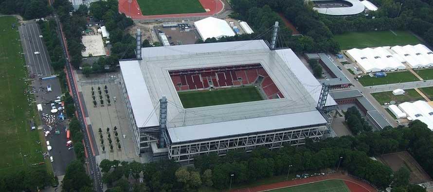 RheinEnergieStadion Aerial view