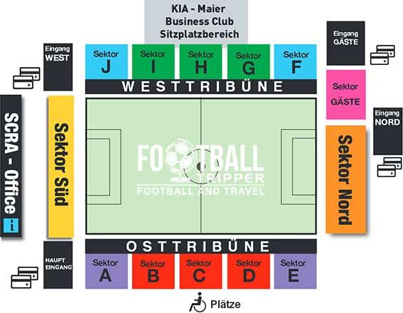 Rheindorf Altach's seating chart