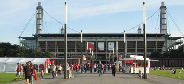 RheinEnergieStadion Exterior.