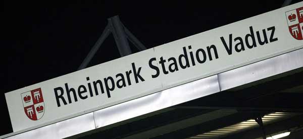 Rheinpark Stadion Sign