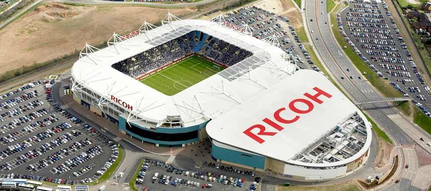 Ricoh Arena Aerial View