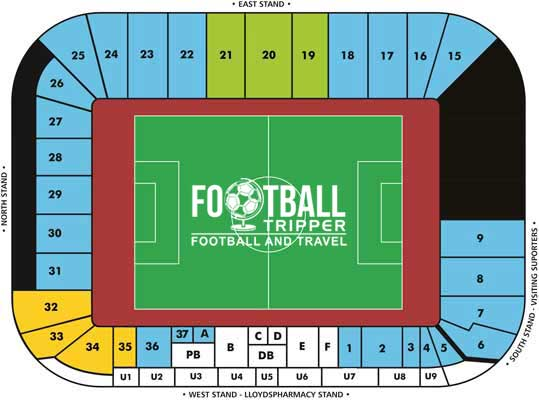 Ricoh Arena Seating Plan