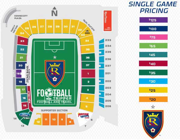 Rio Tinto Seating Plan
