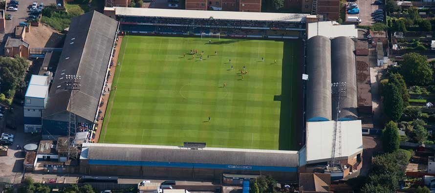 Roots Hall Pitch Southend