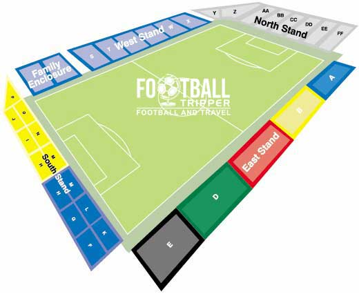 Roots Hall Seating Plan