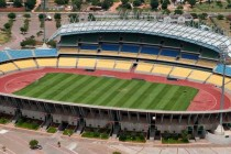 Aerial view of Royal Bafokeng Stadium