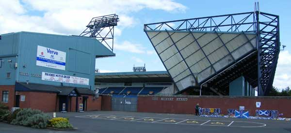 Rugby Park from the outside.
