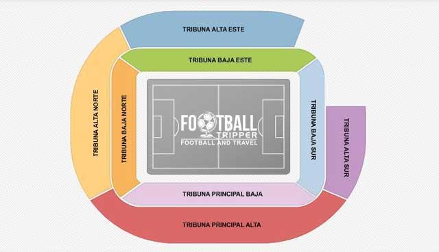 San Mames seating plan