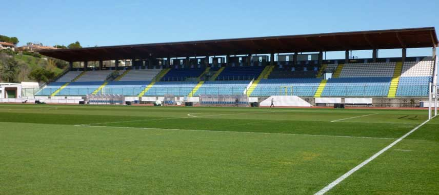 Main stand of San Marino