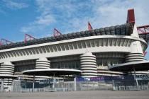 Exterior of San SIro Stadium