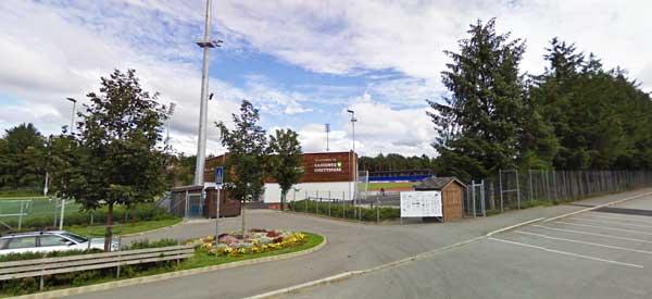 Sandnes Idrettspark Entrance