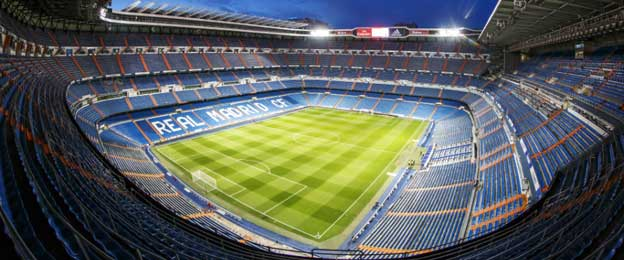 Bernabeu at night
