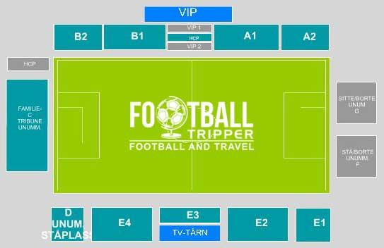 Sarpsborg Stadion seating plan