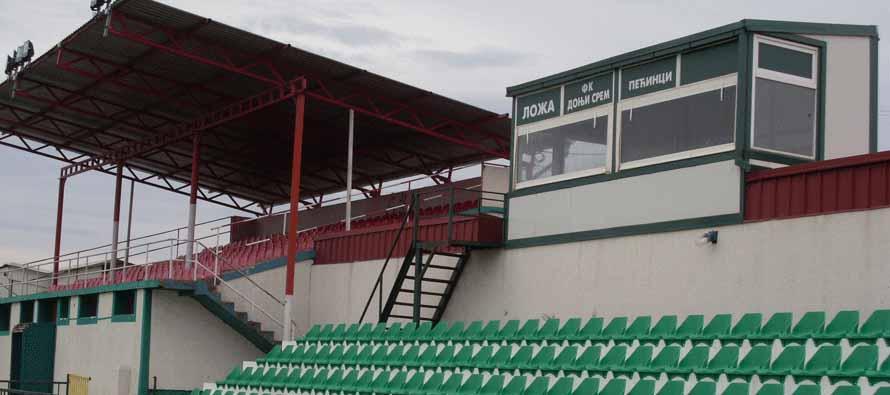 SC Suvaca main stand