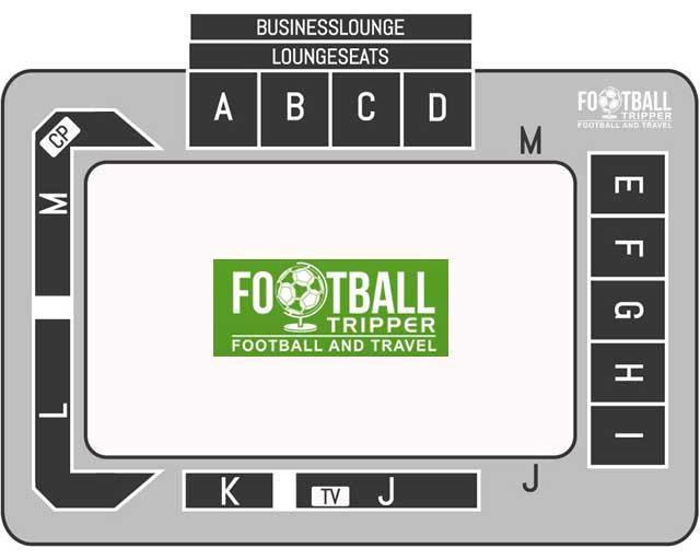 Schiervelde Stadion seating chart