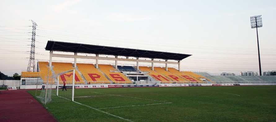 Selayang Stadium's main stand