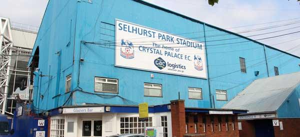 Exterior Selhurst Park Main Stand