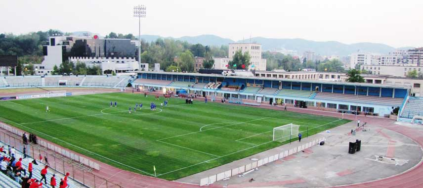 View from the corner inside Selman Stermasi Stadium
