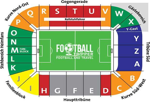 WWK Arena seating plan