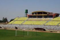 Main stand of Shahre Qods Stadium