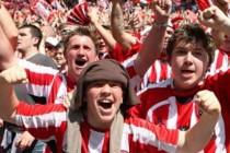 Sheffield United Fans inside the stadium