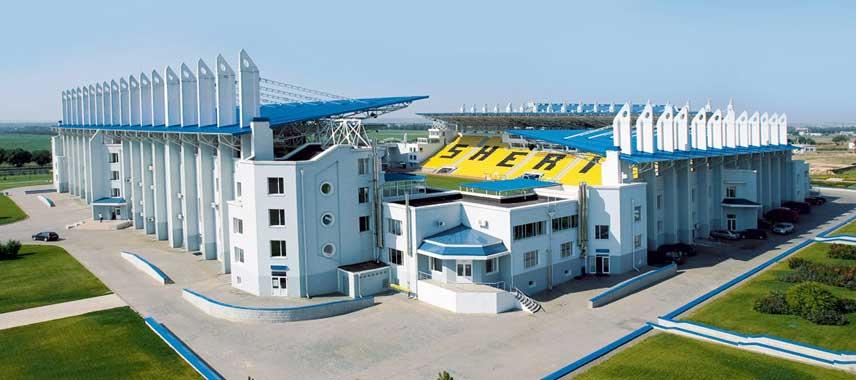 Sneak peak into Sherrif Stadium from the outside