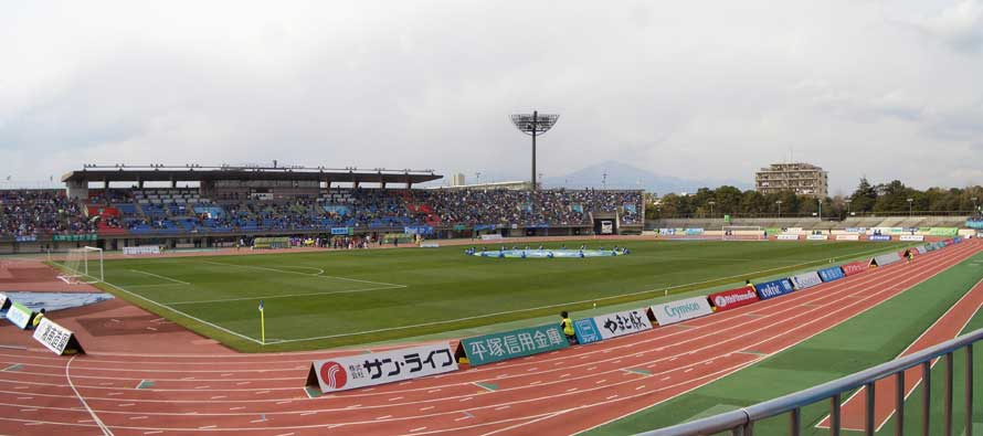 Inside Shonan BMW Stadium