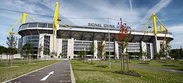 Exterior of Signal Iduna Park
