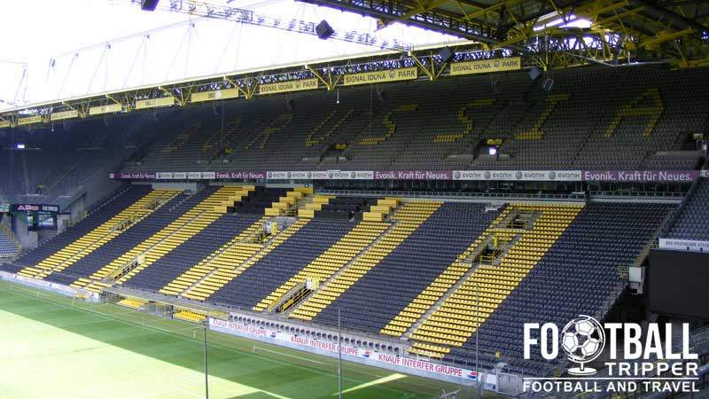 signal iduna park borussia dortmund football tripper. Black Bedroom Furniture Sets. Home Design Ideas