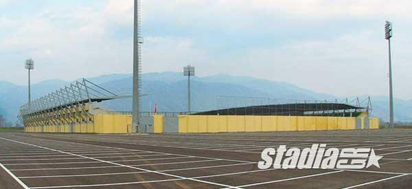 Skoda Xanthi Arena parking