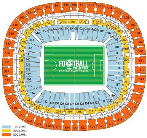 FNB Stadium Seating Chart