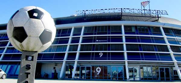 Exterior of Sor Arena