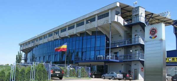 Main stand of Generali Arena