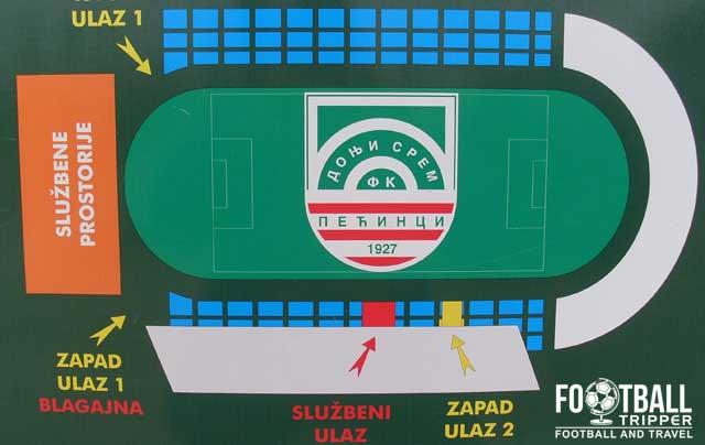 Sportski Centar Suvaca stadium map