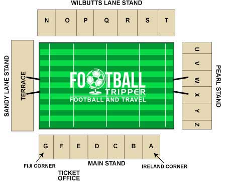 Spotlands Stadium Seating Plan