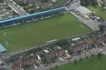 Aerial view of St Colman's Park