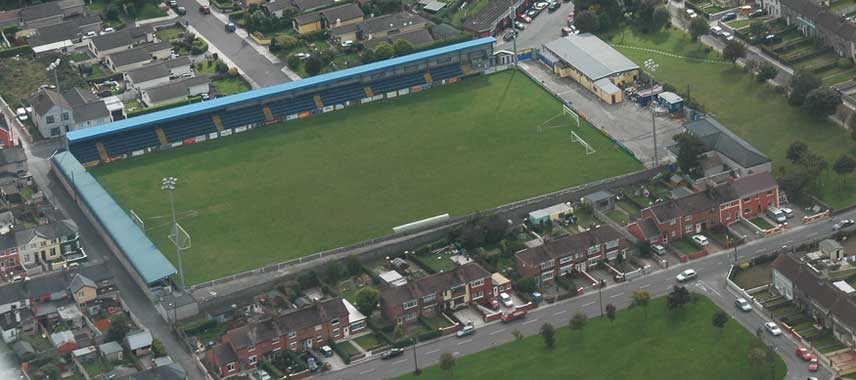 Aerial view of St Colman's Park