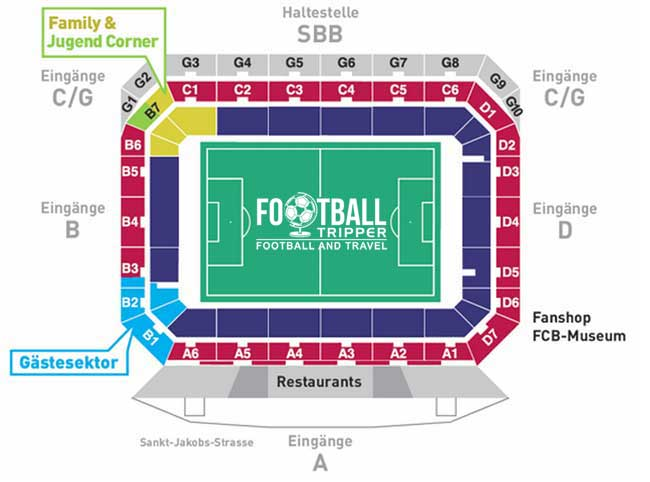 St Jakob Park Seating Plan