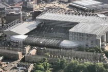 St James Park aerial