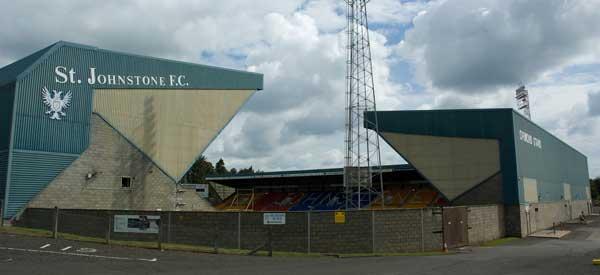 Outside St Johnstone's Stadium.