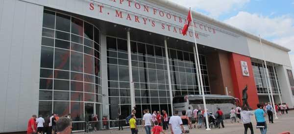 Exterior of St Marys Stadium