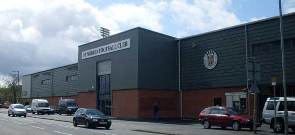 The nicest looking stand at the stadium from outside.