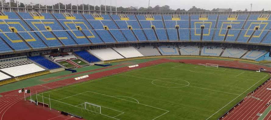 Inside Stade 5 Juillet 1962
